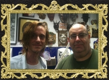 Mackenzie Crook and Lal